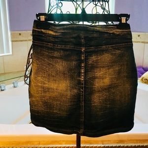 Dresses & Skirts - Stretch Blue Denim Skirt - M Size - Brand New!!